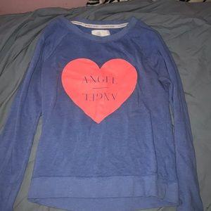 Victoria Secret Angel Crew Sweatshirt